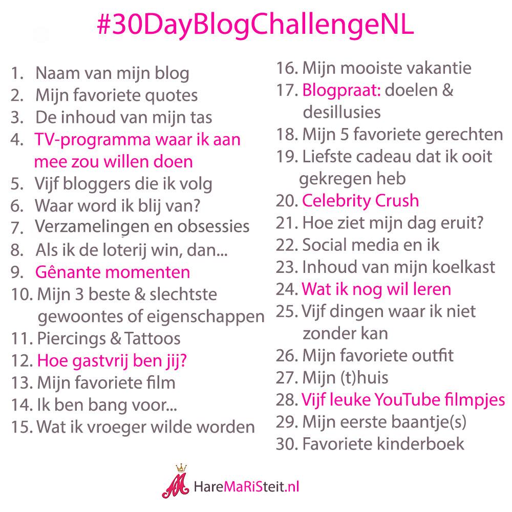 30 Day Blog Challenge #2