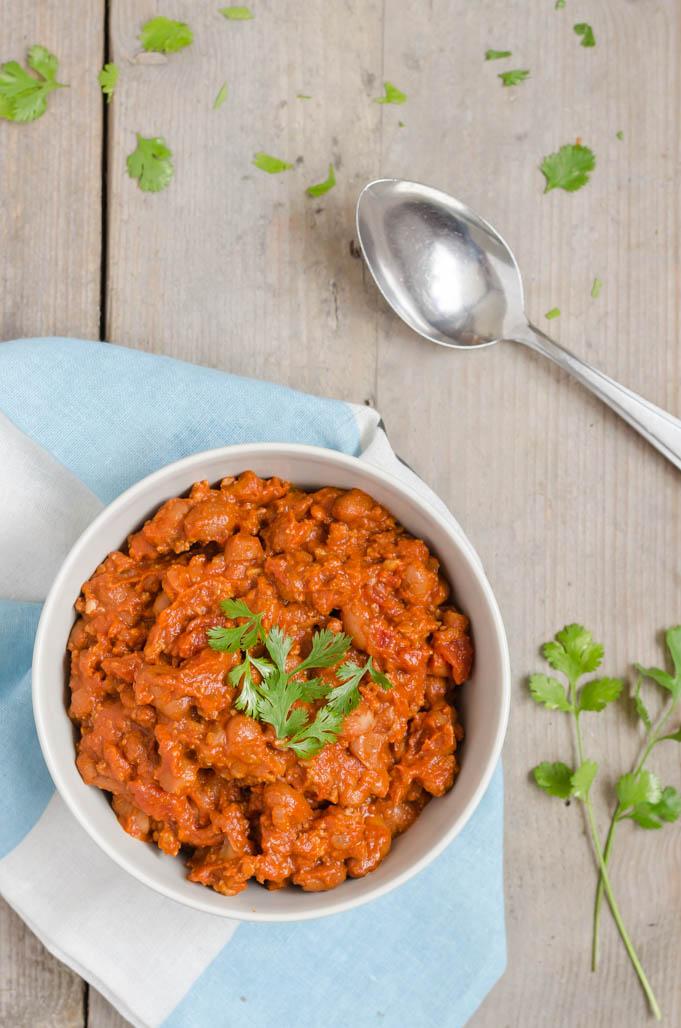 Slowcooker chili con carne
